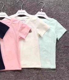 Kids Designer T Shirts NZ - New Kids Designer shirts Clothes Girl Baby Boy Tees Fashion Cotton Clothes Designer Children T-Shirt Breathable Brand Tops