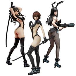 $enCountryForm.capitalKeyWord NZ - Toys Hobbies Action Toy Figures GANTZ O Shimohira Reika Sword Ver Anzu Yamasaki X Shotgun ver. Sexy SM Girl 25cm PVC figurine