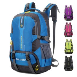 Chinese  5styles 50L Waterproof sport backpack Mountaineering Bag camping hiking travel outdoor bags large Capacity storage bag FFA1832 manufacturers