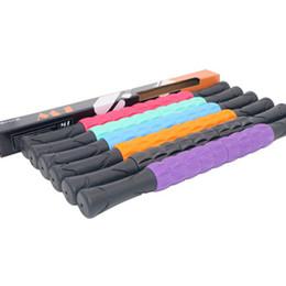 Ingrosso Portable fitness Massaggiatore Stick Full Body Rullo Rullo di plastica Bar albero yoga di forma fisica profondo rilassamento muscolare bastone di massaggio LJJZ709-1