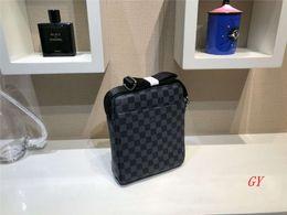 Best selling Men Messenger Bags Pu Leather Mens designer Crossbody Bags Quality shoulder bag For Men Handbags Business Briefcases B55 on Sale
