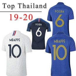 $enCountryForm.capitalKeyWord Australia - New 100th France MBAPPE GRIEZMANN POGBA jersey 2019 2020 100 anniversary football shirt football shirt training men maillot de foot