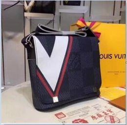 Backpacks velvet online shopping - Man Women Genuine Leather High Quality Handbag Real Leather Crossbody Women Fashion Shoulder Bag A8520