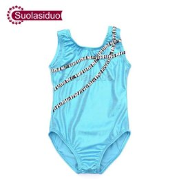 childrens ballet UK - Blue Ballet Dance Tank Gymnastics Leotard Childrens Fish-scale pattern Leotards for Kids Toddler Black Lycra Spandex Performance Wear