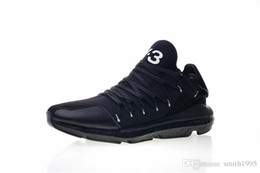 Badminton Y3 NZ - High quality designer Y-3 Kusari real men's running shoes black and white fashion y3 sneakers size 40-45 euros
