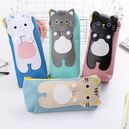 fantastic bags NZ - 1pcs Kawaii Cartoon Pencil Bag Student Pencil Case Creative Stationery For Kids Gift Bag School Supplies