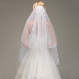 Cheap bikinis free shipping online shopping - Only Wedding Bikini Veil Two Layers Cheap Headpiece Veils Bridal Accessories White Ivory CPA1443