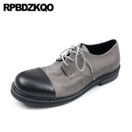 $enCountryForm.capitalKeyWord Australia - european patchwork high quality british style italian brand men oxfords shoes handmade genuine leather casual spring lace up