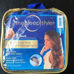 $enCountryForm.capitalKeyWord Australia - 12pcs Lot The Sleep Styler mini Hair Curling Curler Comb Air Hair Roller Curlers Soft Foam Bendy Twist Rods DIY Hair Styling Tool K460