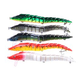 multi jointed fishing lures Australia - 1pcs Multi-jointed Pike Lure Minnow 23cm 46g Artificial Hard Baits Jointed Fishing Lure Swimbait Wobblers 5 Colors