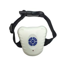 venda por atacado Pet Dog Sem Barking Parar Collar Ultrasonic Anti Bark Training máquina eletrônica Pet Dog Acessórios BBA5