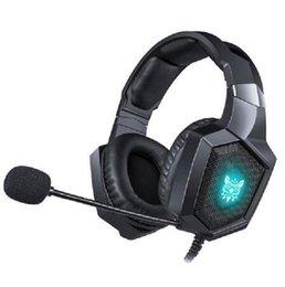 venda por atacado 2020 Fones de ouvido estéreo ONIKUMA K8 casque PS4 Gaming Headset PC com microfone luzes LED para Xbox One / Laptop Tablet Gamer