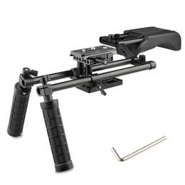 Pro Dslr Camera NZ - CAMVATE Pro DSLR Shoulder Mount Support Rig Kit Handgrip fr Canon Nikon Sony and other