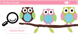 Wallpaper kids tree oWl online shopping - Animal cartoon owl tree vinyl wall sticker for kids rooms home decor living room decoration Mural Decal child stickers wallpaper