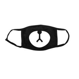 $enCountryForm.capitalKeyWord Australia - kpop EXO CHANYEOL Bear Nose Mask Three Layers Cotton Dust-proof Warm Masks Black For Men Women Fans