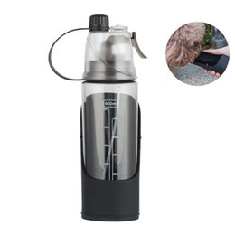 water bottle wholesale for sports UK - Outdoor Travel Sports Bottle Fitness Water Cup For Men And Women Camping Hiking Running And Portable Pet Water Bottle Drink Dog