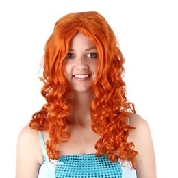 Number Hair Australia - 2019 hot number brave legend Cosplay wig Melinda brown anime wig long curly blonde hair for women