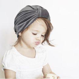 Turbans Baby Cap NZ - Kids Photography Props Knot Hat Infant Baby Velvet  Turban Cap Hat e4a5d5be3d42