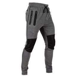 free gym clothes NZ - Autumn Gym Pants Sport Leggings Men Running Jogging Sweatpants Fitness Clothing Joggers Male Bodybuilding High Waist Track Pants SH190805