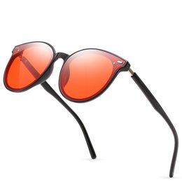 Ladies High Quality Designer Sunglasses Australia - High-end ladies round frame sunglasses fashion brand designer ladies sunglasses retro sports ladies high quality gold frame sunglasses new