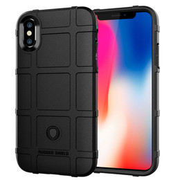 Iphone Tactical Australia - 360 Degree Full Body Protection Phone Case for Iphone X XS Soft TPU Thick Solid Armor Tactical Protective Cover Case