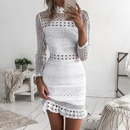 Mini Housing Australia - Short lace slim Dresses lace Evening Dress With Sexy Sweetheart Mini lace Dresses Back To The House Dresses High slim vestidos