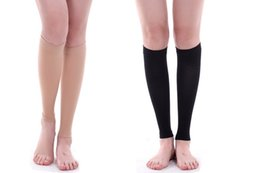 Wholesale stovepipe socks legs for sale - Group buy Secondary nursing leg set imitation stovepipe pants elastic socks varicose compression socks sports leggings set fat burning protective gear