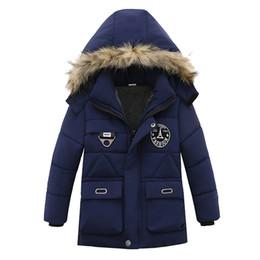 $enCountryForm.capitalKeyWord Australia - Children Jacket For Boys Coat Autumn Winter Jackets For Boys Jacket Kids Warm Hooded Zipper Outerwear Coat For Boys costume