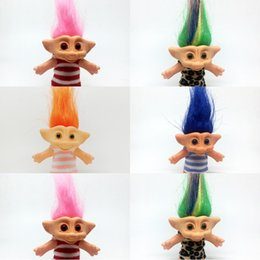 Hairy Hair online shopping - Leprocauns Hairy Boy Miss Marc Troll Doll Dress Up Wear Clothes Classic Crazy Hair Dolls Old Generation Nostalgia sra O1