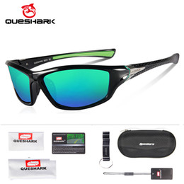 sunglasses hiking Australia - QUESHARK TR90 Untralight Frame HD Polarized Sunglasses Fishing Eyewear Cycling Glasses For Men Women Sport Hiking Running Golf Y200415