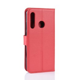 Leather Smart Phone Wallet UK - lychee wallet leather cover phone Cases For Huawei p smart plus p30 pro lite Y9 Y7 Y6 Y5 2019 honor 10i 20i