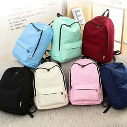 $enCountryForm.capitalKeyWord Australia - Fashion Women Backpack Solid Color Travel Casual Shoulder For Teenage Girl New School Bag Bagpack Rucksack Knapsack 2019 Y190627