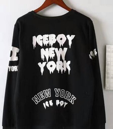 Hba Hoodie online shopping - Sales Famous Spring Hiphop HBA BOY EAGLE Men s Hoodies Cotton New york Tracksuit streetwear Ice Boardskating Rock London men sweatshirts