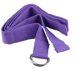 Wholesale Hot promotion Fitness items cotton Yoga belts Stretching Belt Yoga rope Yoga accessories YS001