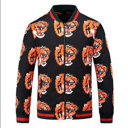 Zipper 3d Australia - Embroidery Men casual wear zipper Hooded jacket jacket Elastic cuff 3D printing &#76uxury brand Designer Lightweight &#71UC&#67I Windbreaker