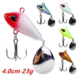 Metal Jigs NZ - 1pcs 5-color 4.0cm 23g Jigs Hook Fishing Hooks Fishhooks Metal Baits & Lures Artificial Bait Pesca Fishing Tackle Accessories