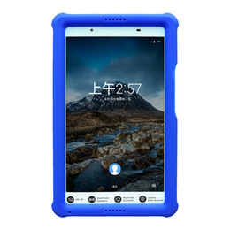 lenovo tab 4 case NZ - MingShore for Lenovo Tab 4 8 Tablet Case Kids-Friendly Bumper for Tab 4 TB-8504 F X N 8.0 Silicone Rugged Tablet Case