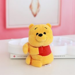 Strawberry pluSh toyS online shopping - Spot Strawberry Bear Vini Bear Stewart Chipmunk Hug Plush Doll Coin Purse Coin Bag Pendant Pooh