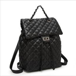 Multi Function Handbag Backpack NZ - Lingge bag 2019 new fashion handbag Korean version of the trend women's backpack multi-function shoulder bag