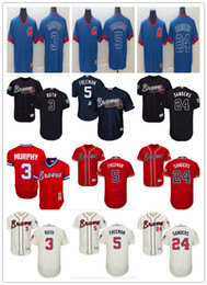 $enCountryForm.capitalKeyWord Australia - custom Atlanta Men's women youth Braves Jersey #24 Deion Sanders 5 Freddie Freeman 3 Dale Murphy Home Blue Grey Red White Baseball Jerseys