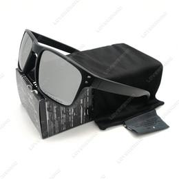$enCountryForm.capitalKeyWord Australia - Wholesale- Mens Design Fashion Sunglasses Smoke Matte Black Frame Polarized Lens New YO92-44 Brand New Outdoor Glasses Free Shipping