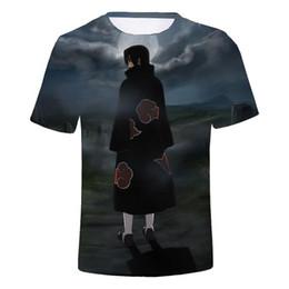 $enCountryForm.capitalKeyWord Australia - Itachi Uchiha T Shirt Men's Ninja T-shirt Naruto Brother Tshirts Amazing Popular Logo Tops Black Tees men shirt