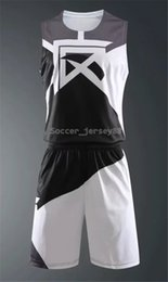 jerseys club teams NZ - New Mens Blank Edition Basketball Jerseys #E820-6 customize Hot Sale Quick Drying T-shirt Club or Team jersey Contact me football shirts