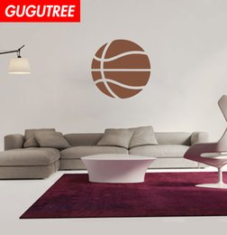 basketball bedroom Australia - Decorate Home basketball cartoon art wall sticker decoration Decals mural painting Removable Decor Wallpaper G-1723
