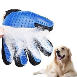 $enCountryForm.capitalKeyWord Australia - Silicone Dog Pet Grooming Glove For Cats Brush Comb Desheddin Hair Gloves Dogs Bath Cat Cleaning Supplies Dog Animal Combs SH190729