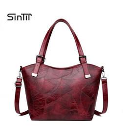 RUOCI Large Capacity Women Handbag Retro Designer Crossbody Bags For Women  Shoulder Bag Leather Female Messenger Bag Sac A Main 8b6c16b7e1
