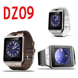 Smart Watches Phones Apple NZ - DZ09 Bluetooth smart watch for apple watch android smartwatch for iPhone Samsung smart phone with camera dial call answer GT08 U8 A1 002