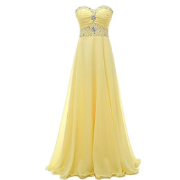 $enCountryForm.capitalKeyWord UK - New Simple Cheap Sweetheart Long Chiffon Prom Dresses With Bead Lace Up Plus Size Women Formal Evening Cocktail Celebrity Party Gowns QC1453