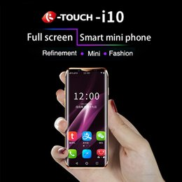$enCountryForm.capitalKeyWord Australia - Luxury K-Touch I10 Super mini 4G Mobile Phone Face ID MTK6737 Quad Core 3.46Inch Curved Screen Smartphone 3GB 64GB Android 8.1 Cell Phone
