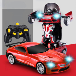 $enCountryForm.capitalKeyWord NZ - RC Car Transformation Robots Sports car Model Robots Toys Cool Deformation Car RC Robots Kids Toys Birthday Gifts